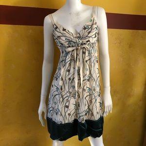 BCBGmaxazria Silk Dress 👗 with a 🎀